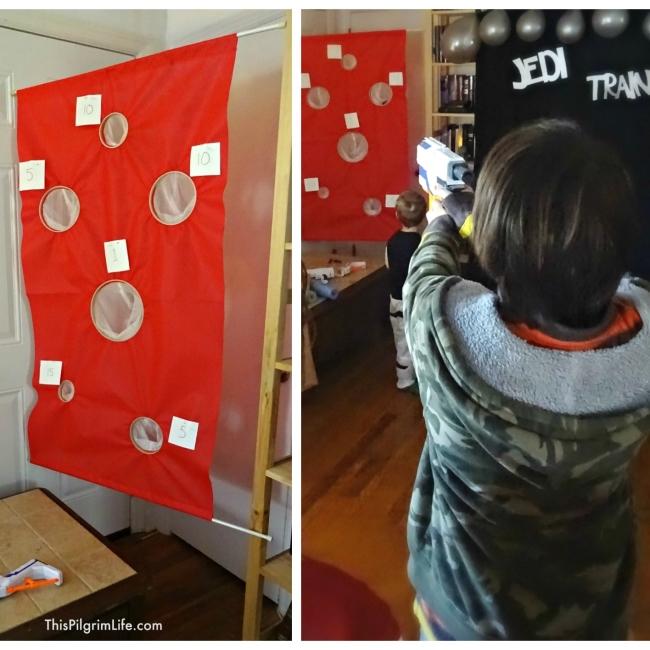 DIY Hanging Nerf Target10
