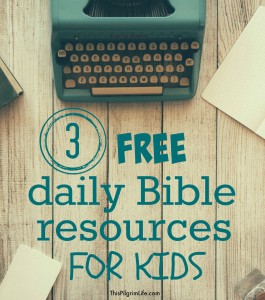 Daily Bible Resources