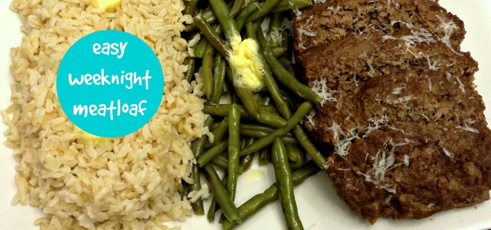 Easy Weeknight Meatloaf-soliloquy