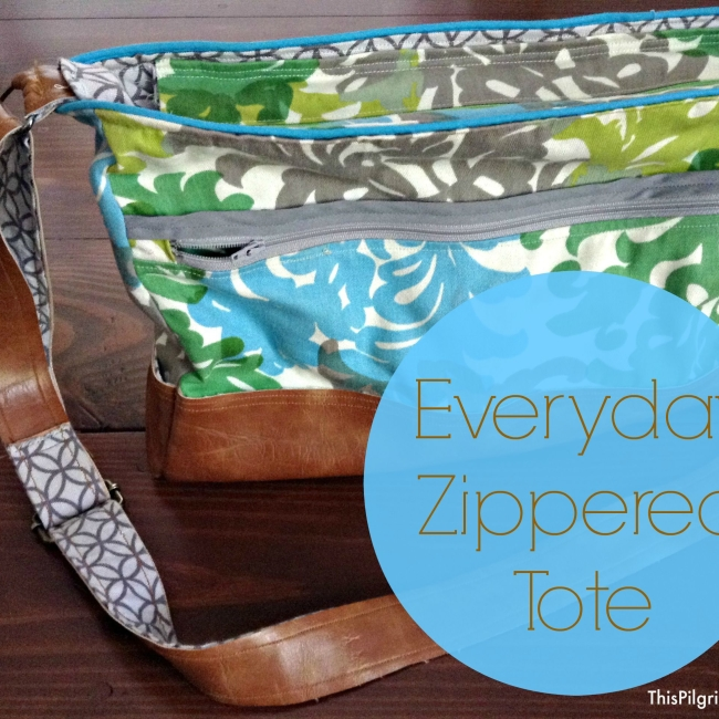 Everyday Zippered Tote Tutorial18