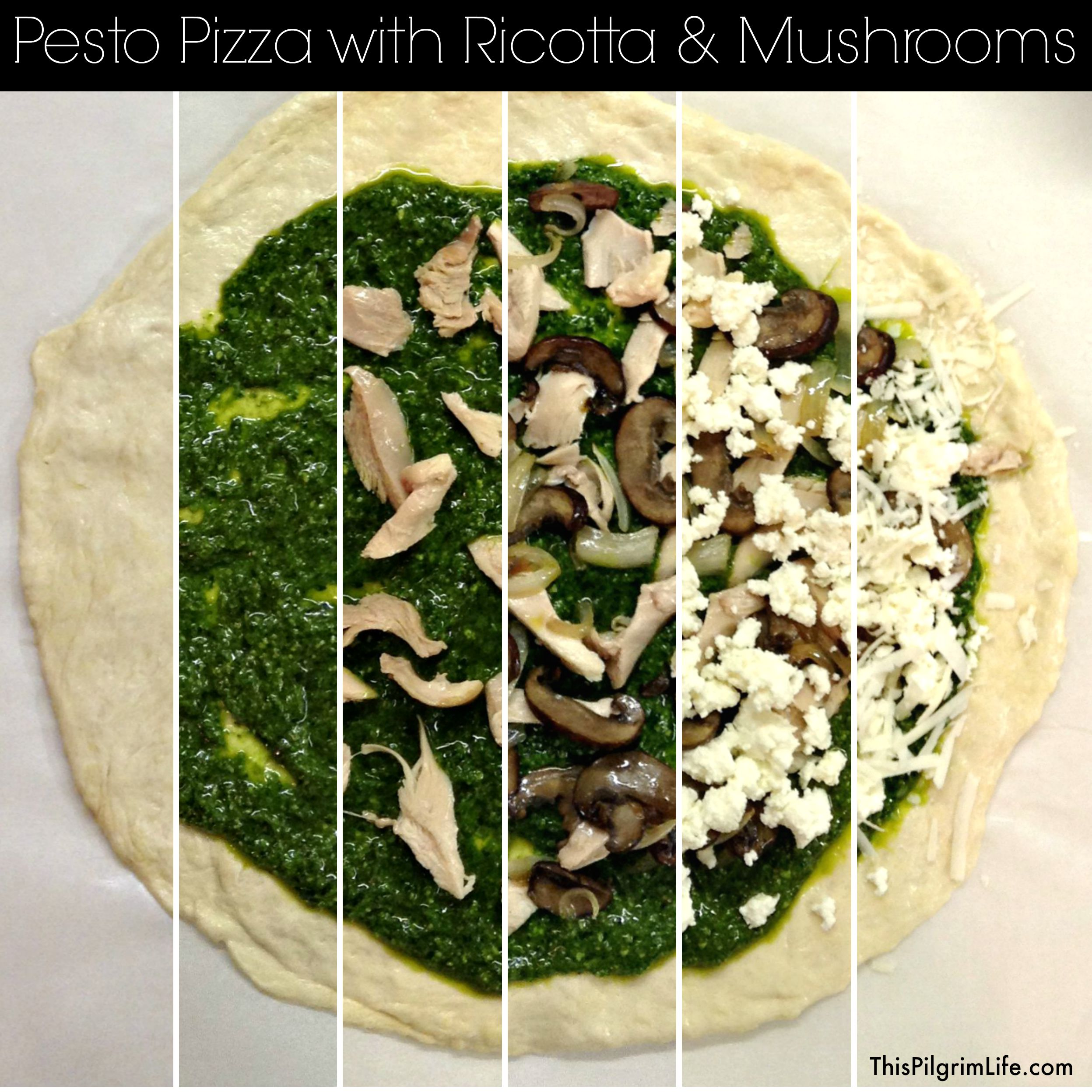 Pesto Pizza 11