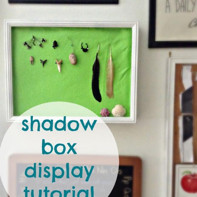 Shadow Box Display Tutoroial10