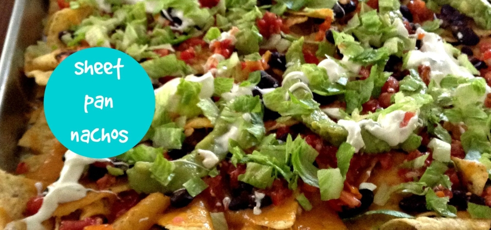Sheet Pan Nachos-soliloquy