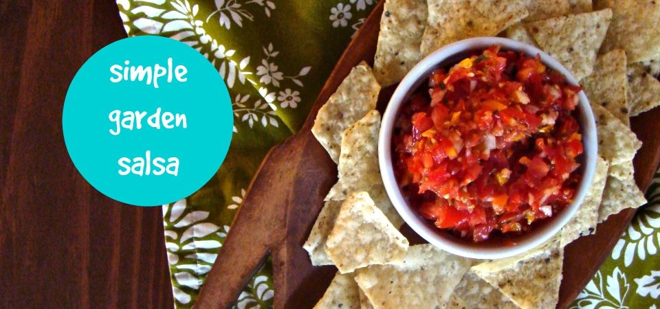 Simple Garden Salsa-soliloquy