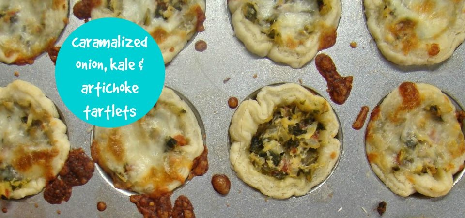 caramelized onion tartlets-soliloquy