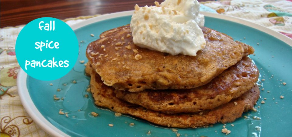 fall spice pancakes-soliloquy