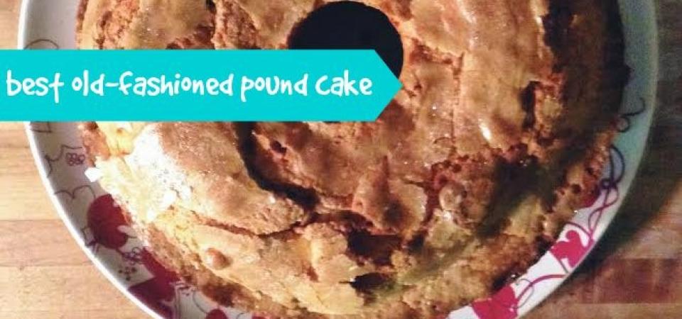 pound cake-soliloquy