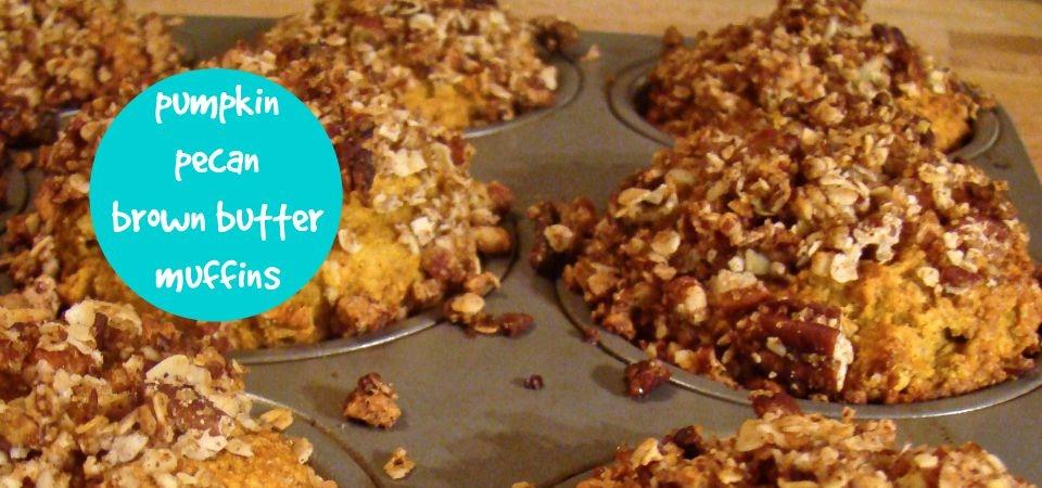 pumpkin muffins-soliloquy