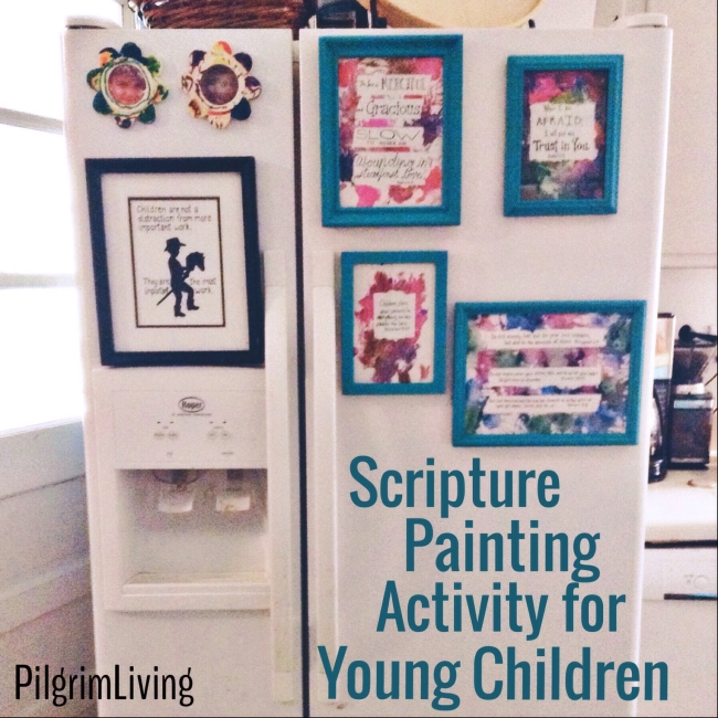 scripture painting for kids