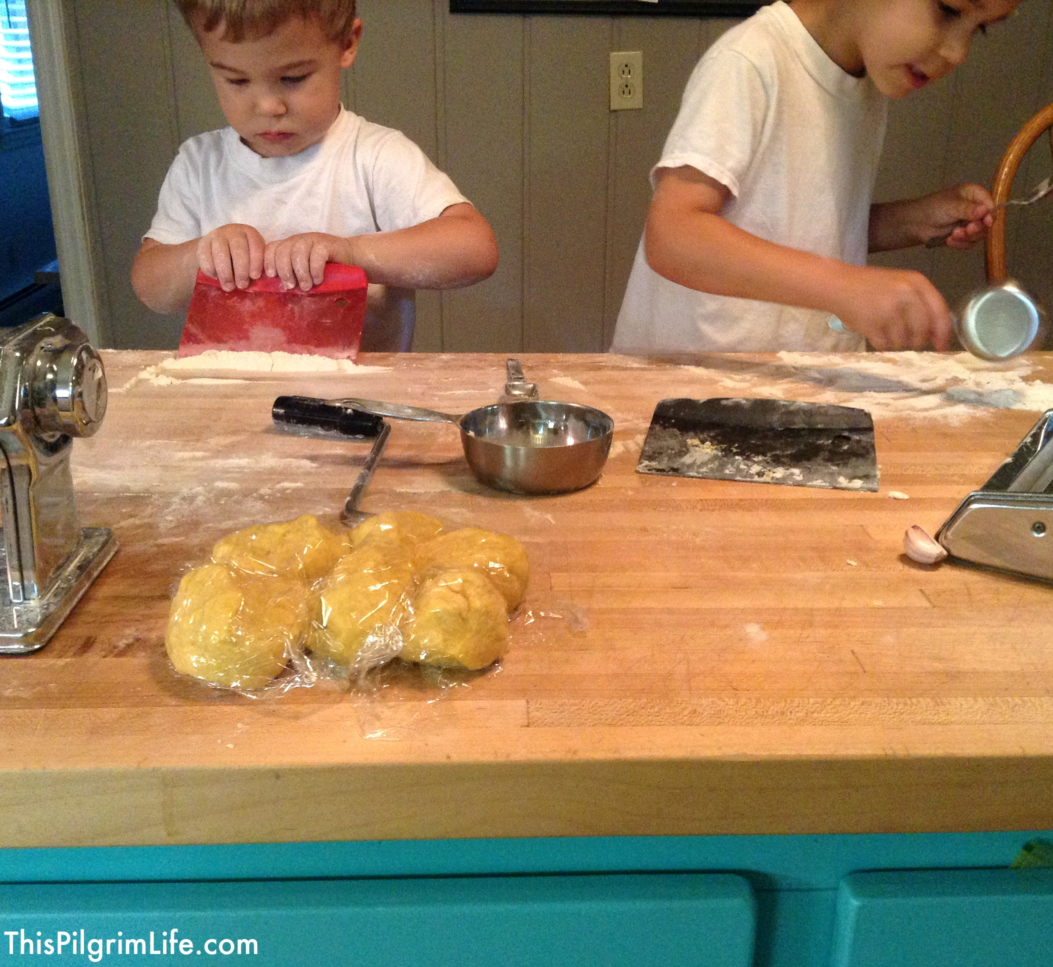 When Kids Can't Help– Keeping Kids Busy While You Cook