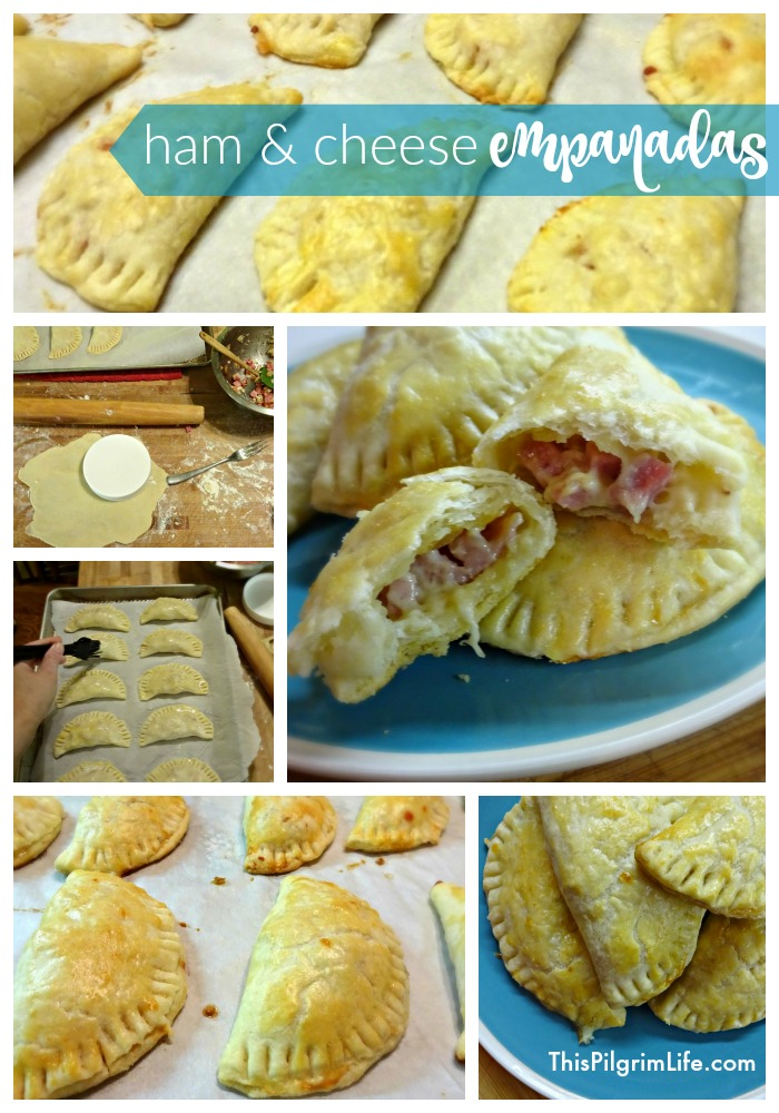 Ham & Cheese Homemade Empanadas