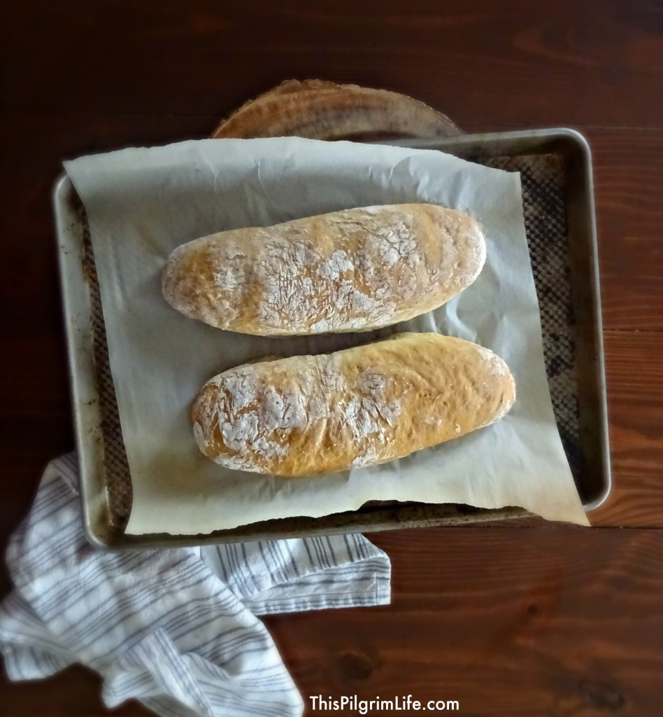 One-Hour French Bread13