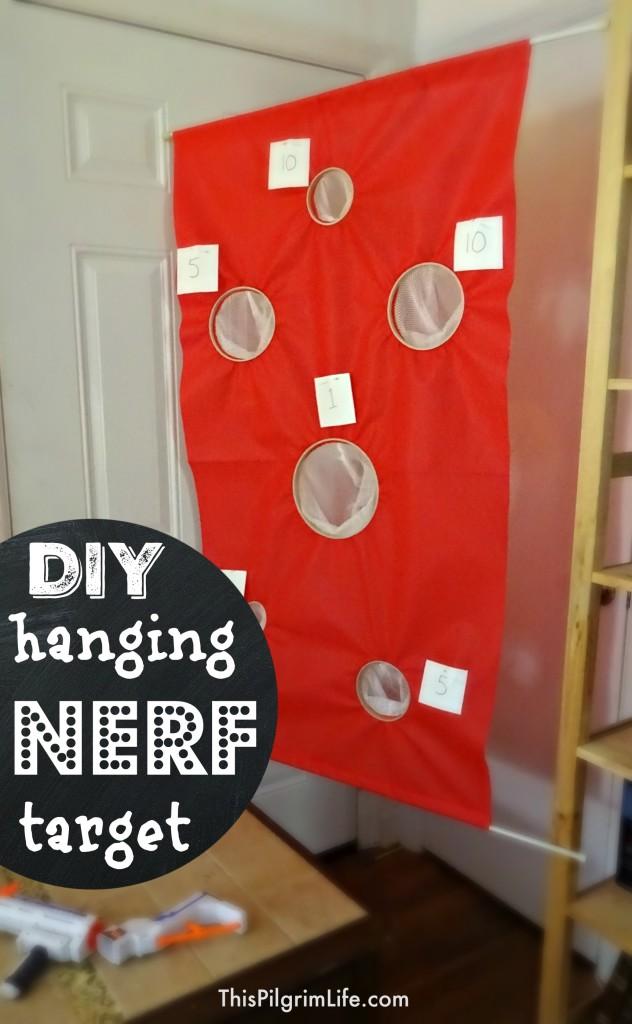 DIY Hanging Nerf Target8