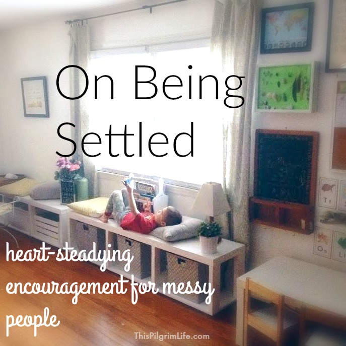 Do you have a settled heart? Or are the circumstances of your life tossing you around and stealing your peace?