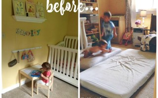 Shared Room Reveal for a Big Sister and Baby Brother
