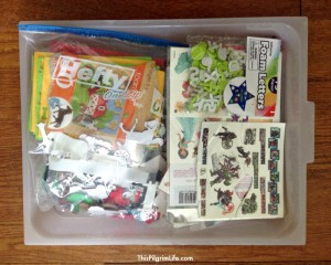 Craft supplies, toys, and kids' stuff, OH MY! Keeping kids' things organized and neat, while giving them plenty of ways to play and create can be a BIG challenge! Here is one solution that gives kids lots of choices, independence, and responsibility with activity trays!