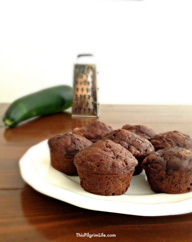 These tender, rich muffins are the perfect answer to a summer abundance of zucchini! Chocolate zucchini muffins are easy to make, wonderful to share, and just right to take along on a picnic or to save for an afternoon snack!