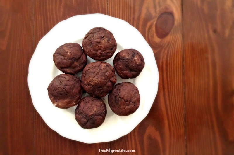 Chocolate Zucchini Muffins4
