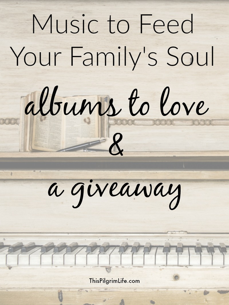 Music is powerful and we can intentionally use it to invest truth and wisdom into our family's minds and hearts. Here are albums to help you do just that.