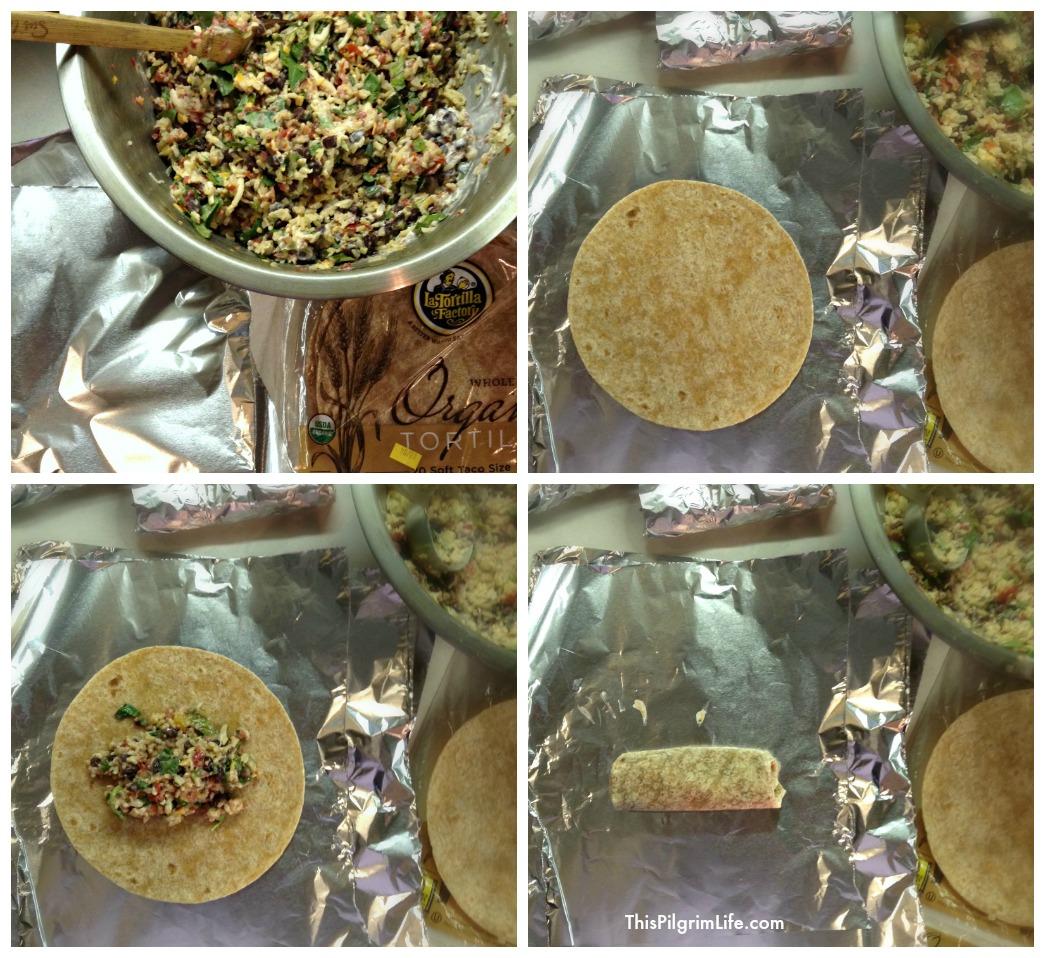 Kitchen Prep Day 2 & A Ridiculously Easy Recipe For Freezer Burritos
