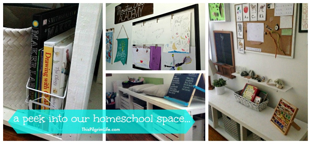 A Peek Into Our Homeschool Space