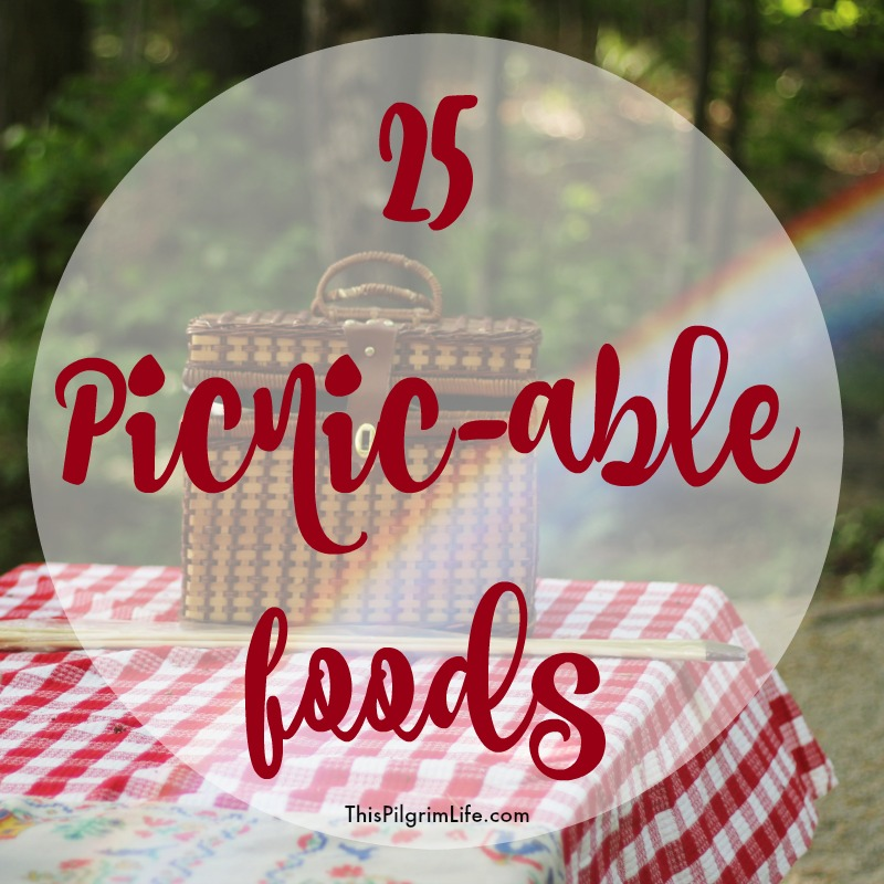 25 foods to bring on a picnic