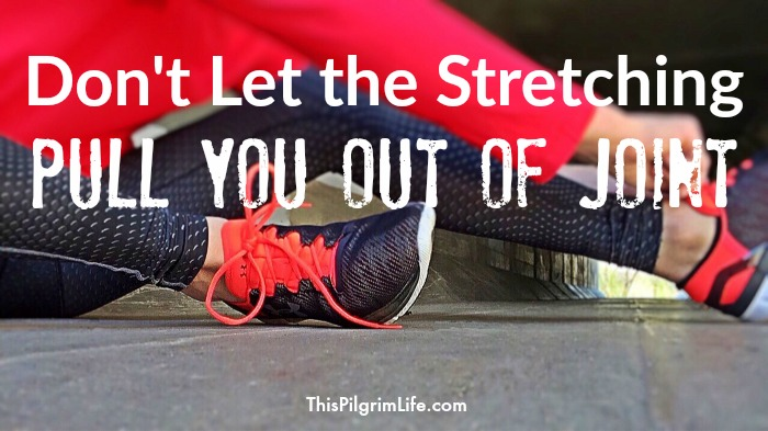We are all stretched when we face things we'd rather not to or things which are hard for us. How we respond to the stretching is what really matters. This is encouragement for those who are feeling the strain.
