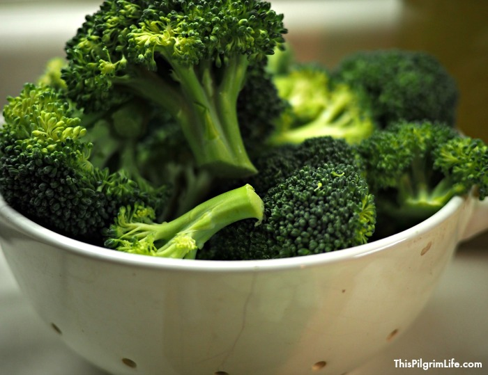 not just a soup with a dash of broccoli to go along with the heaps of milk and cheese. The broccoli is the star, and the green is boosted by the addition of