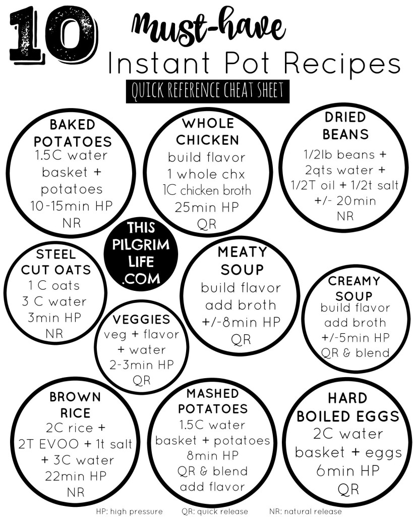Top 15 Must-Have Instant Pot Recipes - This Pilgrim Life