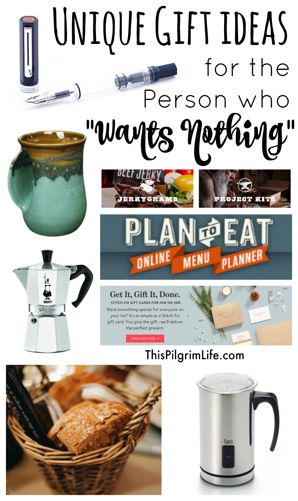 "Unique Gift Ideas for The Person Who ""Wants Nothing"""