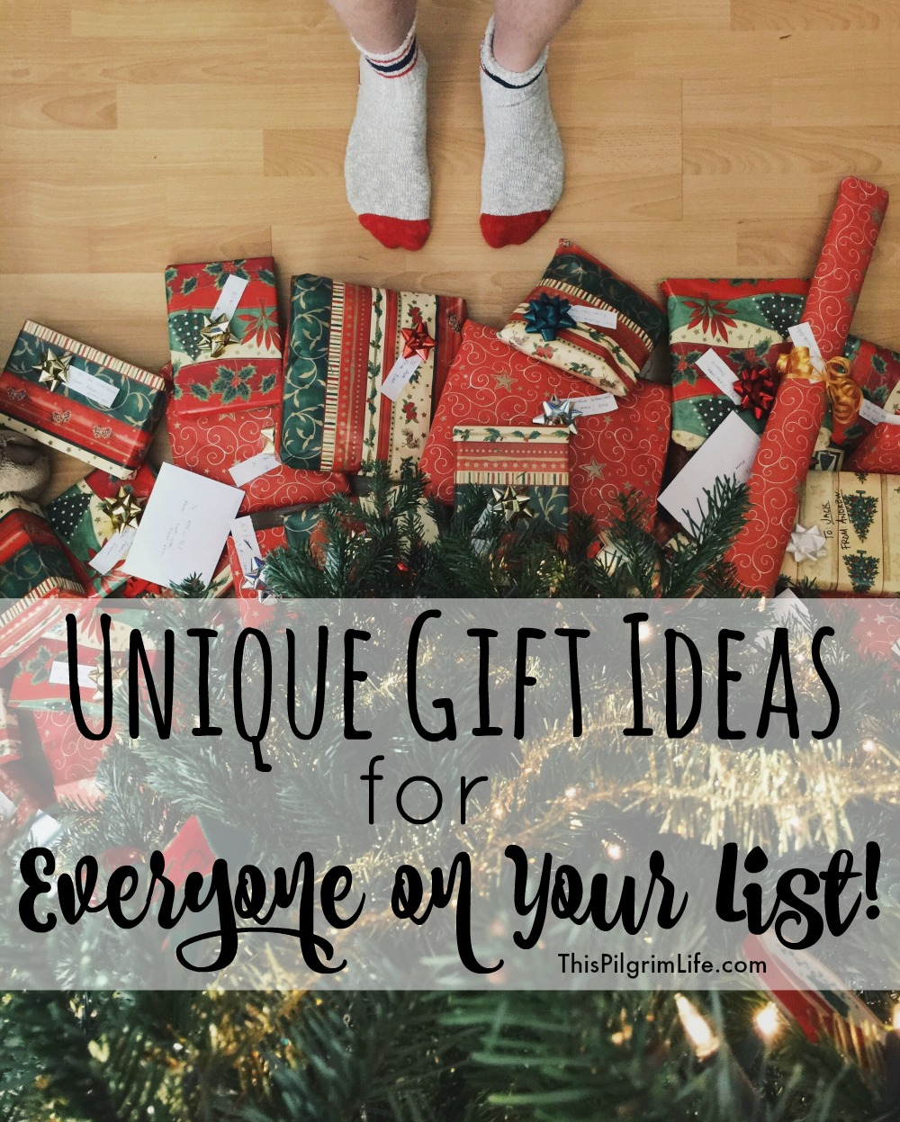"We all have hard-to-shop-for people on our Christmas lists! Check out these unique gift ideas for the person who wants ""nothing""!!!"