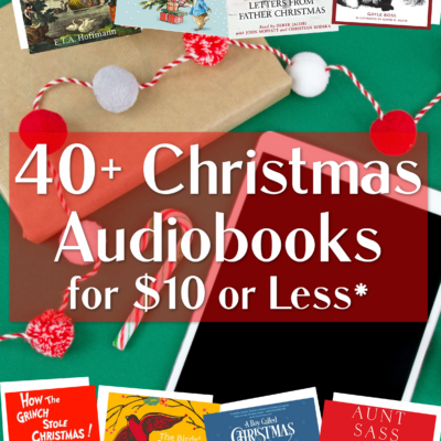 40+ Christmas Audiobooks Under $10!