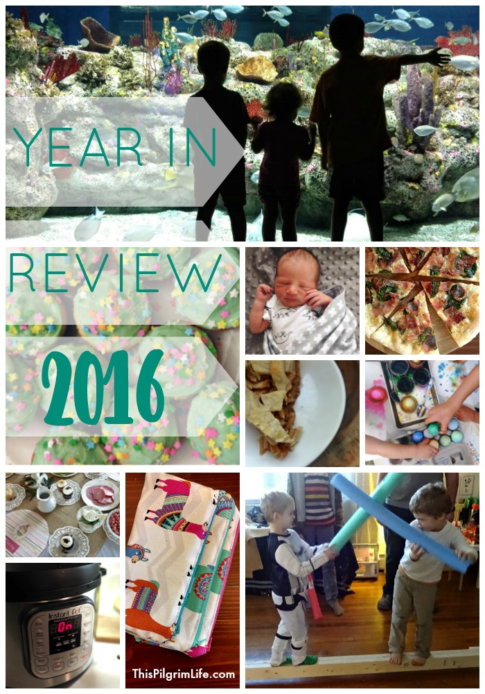 A look back at the food, projects, and memories shared in 2016. on This Pilgrim Life.