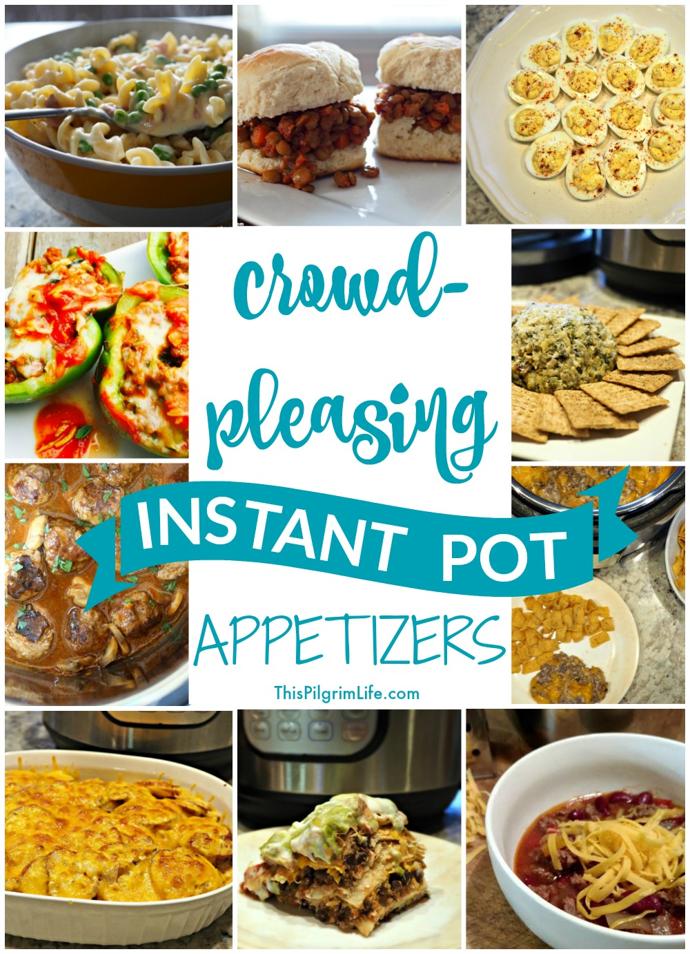 Check out this list of Instant Pot appetizers-- real food ingredients, quick and easy to make, and sure to please the guests at your next party!