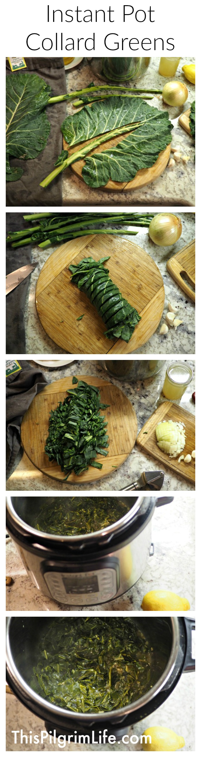 Instant Pot Collard Greens–Delicious, Quick, & Easy!