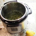 pan fried pork chops and collard greens
