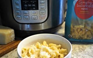 Instant Pot Single Serve Garlic Butter Pasta