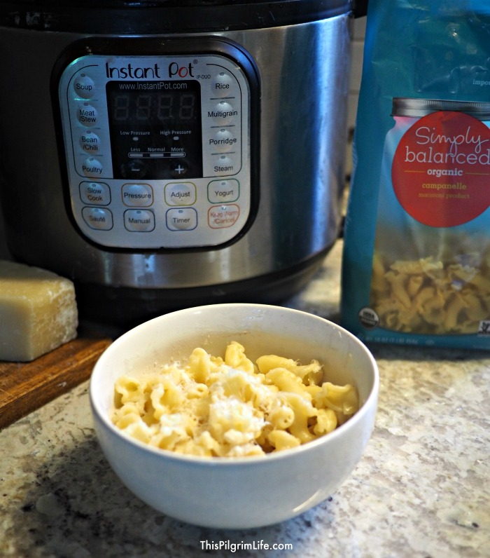 Instant Pot Single Serve Garlic Butter Pasta