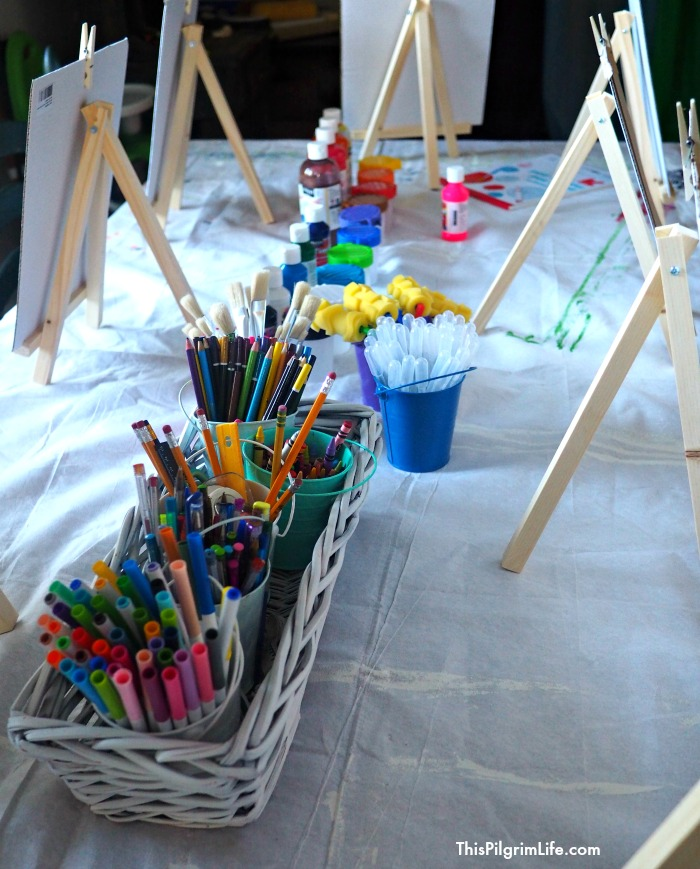 Throw an awesome art birthday party for your creative kids! Check out these ideas for games, activities, decor, and more!