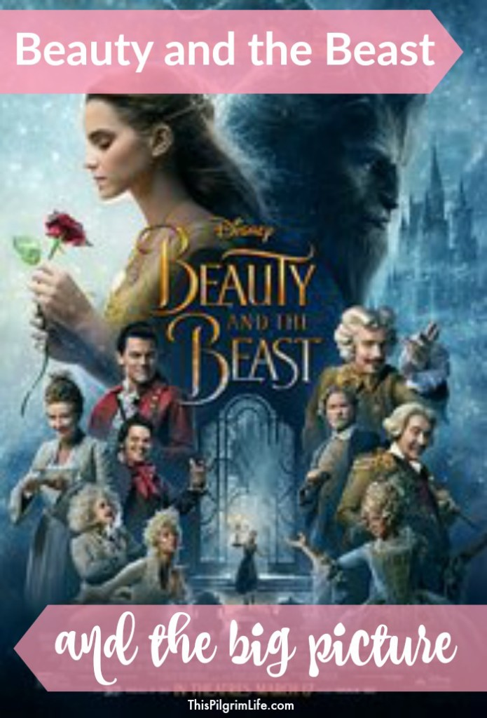 There has been a lot of talk about the new Beauty and the Beast movie coming out next week. A lot of talk about one thing. But I think we may be missing the bigger picture.