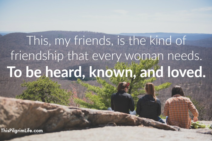 We all need friends. But not just people we meet occasionally at the park or say hi to when we see each other at the store. The kind of friendship we all need goes much deeper. It risks more, but it pays off even more.