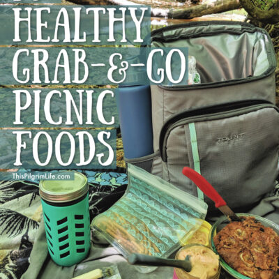 30+ Healthy Grab and Go Picnic Foods