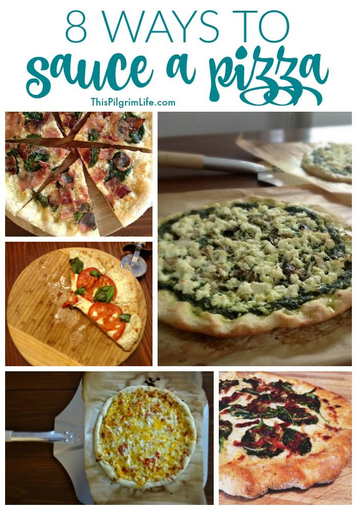 There are many ways to sauce a pizza! Try something new tonight!