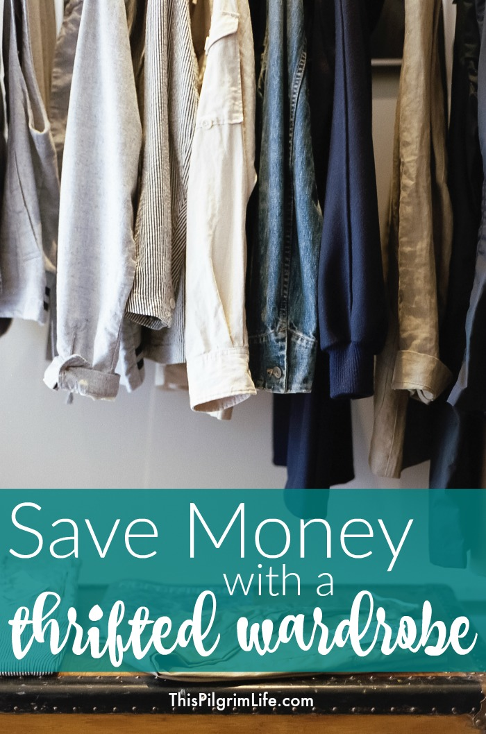 8a2b0f735d51 Shopping for clothes at thrift stores can be an incredible way to save money!  Here