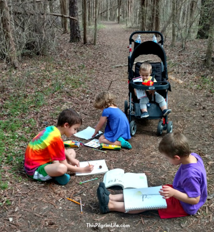 Nature journaling is a great way to cultivate wonder!