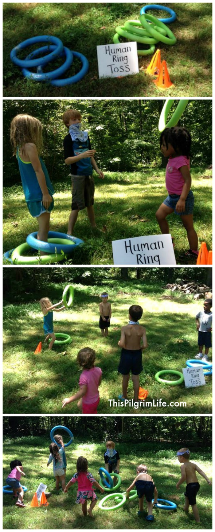 Throw an awesome field day water party in your backyard! Set up is easy and inexpensive, and it's fun for all ages!