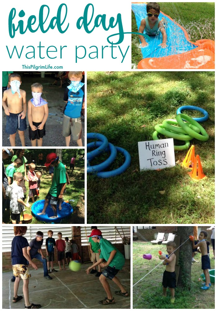 Field Day Water Party