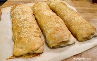 Easy Homemade Stromboli