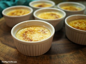 healthier instant pot creme brulee
