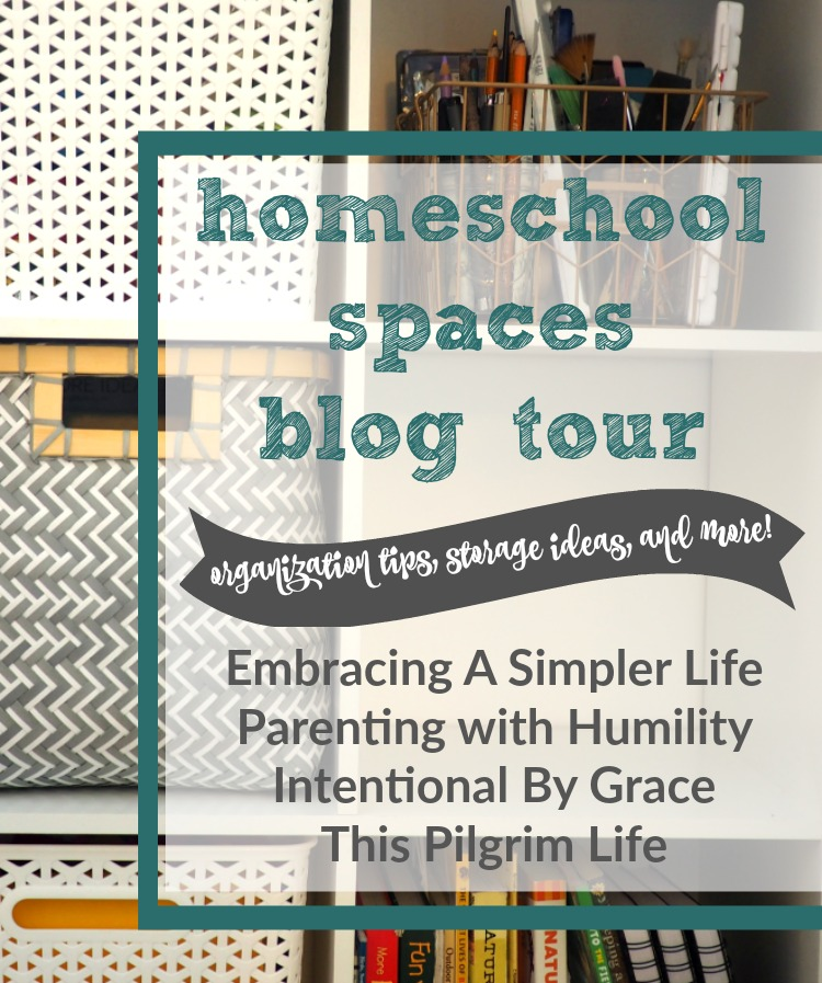 Check out how these bloggers organize their homeschool spaces!